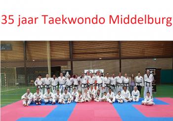 35 jaar Taekwondo Middelburg